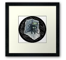 Love's Labours Lost In Space Framed Print