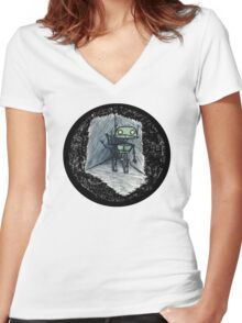Love's Labours Lost In Space Women's Fitted V-Neck T-Shirt