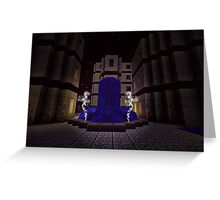 WATER FORTRESS FOUNTAIN  Greeting Card