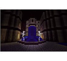 WATER FORTRESS FOUNTAIN  Photographic Print