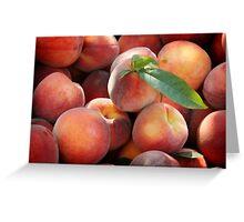 Plenty of Peaches Greeting Card