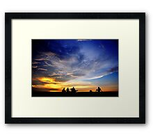 Under the Sky Framed Print