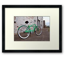 Moon Lizard Framed Print