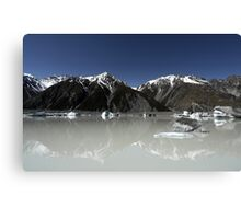 In the Hall of the Mountain King- The Ice Lake Canvas Print