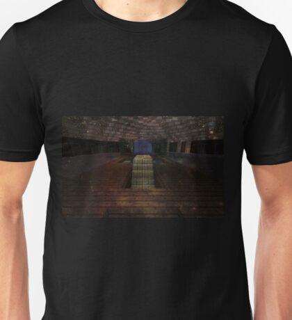 MINECRAFT HOUSE FOUNTAIN Unisex T-Shirt