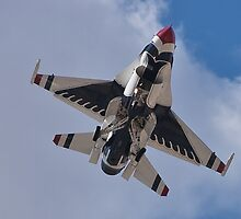 USAF Thunderbird Belly Shot by Henry Plumley