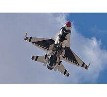 USAF Thunderbird Belly Shot Photographic Print