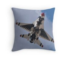 USAF Thunderbird Belly Shot Throw Pillow