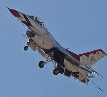 USAF Thunderbird #4 by Henry Plumley