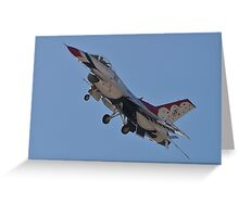 USAF Thunderbird #4 Greeting Card