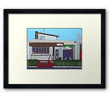 Vela Nine Cafe Framed Print