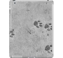 Panther footprints  iPad Case/Skin