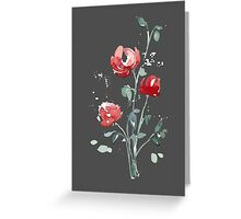 flowers. roses. flower happiness Greeting Card