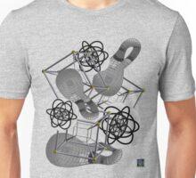 """""""Stereographic Klein Schlegel - GREY""""© Unisex T-Shirt"""