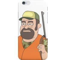 Rick and Morty: Hunter iPhone Case/Skin
