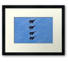 F-15 Strike Eagle squadron Framed Print