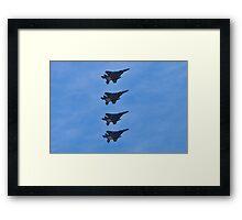 F-15 Strike Eagle squadron Framed Print