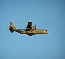 A Royal Norwegian Air Force C-130 Hercules by Henry Plumley