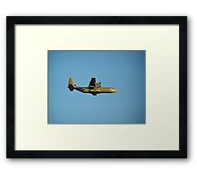 A Royal Norwegian Air Force C-130 Hercules Framed Print