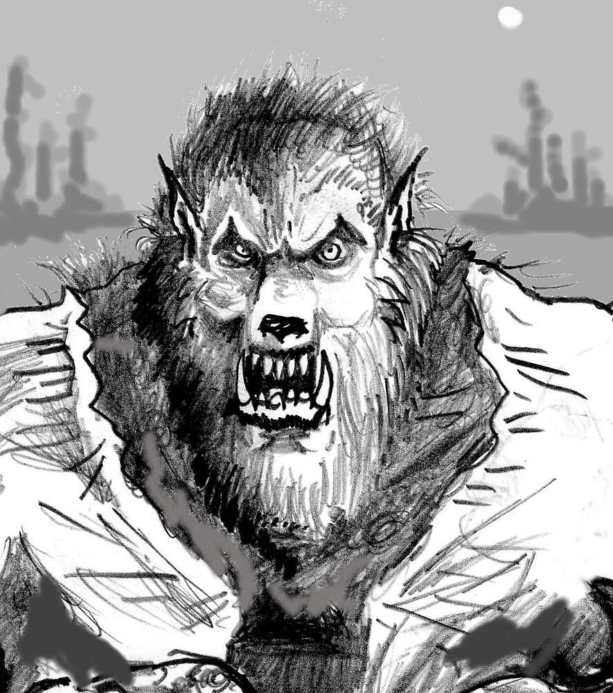 The werewolf by mattycarpets