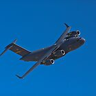 C-17 Globemaster III flexing some muscle by Henry Plumley