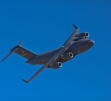 C-17 Globemaster III flexing some muscle by Henry Plumley