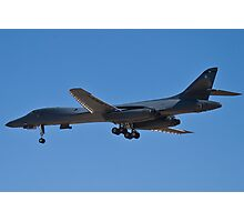 Rear shot of the B1-B Lancer Bomber Photographic Print