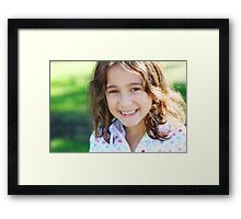 Miss Mia Framed Print