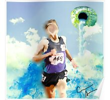 Surreal Running Poster
