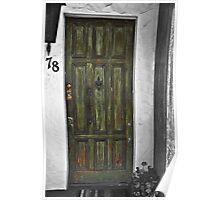 """"""" Behind the Green Door # 78 """" Poster"""