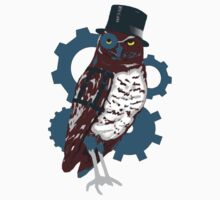 Steampunk Owl by Sarah Countiss