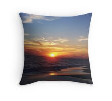 colors in the sand.... Throw Pillow