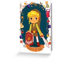 Hero of the wind Greeting Card