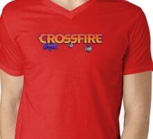 crossfire board game logo Mens V-Neck T-Shirt