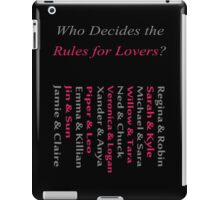 Starcrossed Lovers Strike Their Own Path iPad Case/Skin
