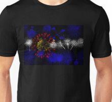Colorado Firework Flag Unisex T-Shirt