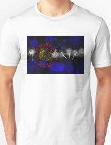 Colorado Firework Flag T-Shirt