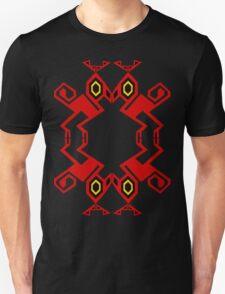 Red Raptor #2 Unisex T-Shirt