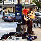 Street musicians  -Seattle by MarthaBurns