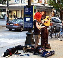 Street musicians  -Seattle by MarthaBurns