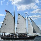 Vintage sailing ship near Newport RI photography by Vitaliy Gonikman