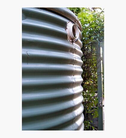 rainwater tank Photographic Print