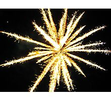 Fireworks (1) Photographic Print