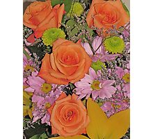 Beautiful Flowers from a Beautiful Friend Photographic Print