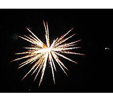 Fireworks (2) Photographic Print