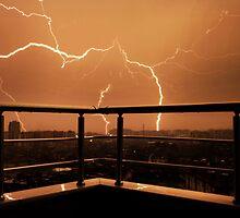 Lightning by amybrookman