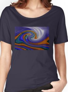 Light Waves Women's Relaxed Fit T-Shirt