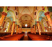 Saint Adalbert Church, Philadelphia  Photographic Print