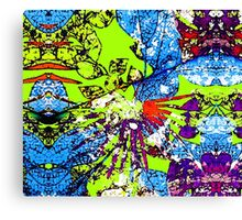 Abstract Multicolor Background Canvas Print