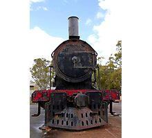 Rusting Steam Train Photographic Print